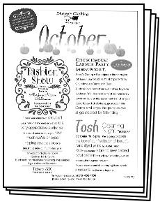 October Classes pdf