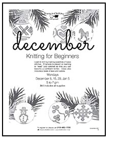 December Beginner's Class Cover