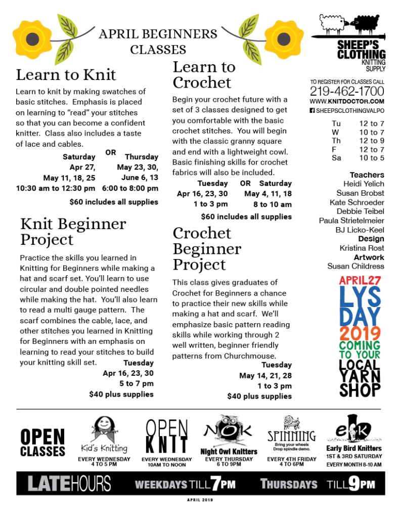 beginner's page