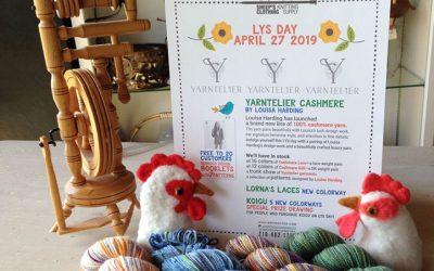 Local Yarn Shop Day April 27