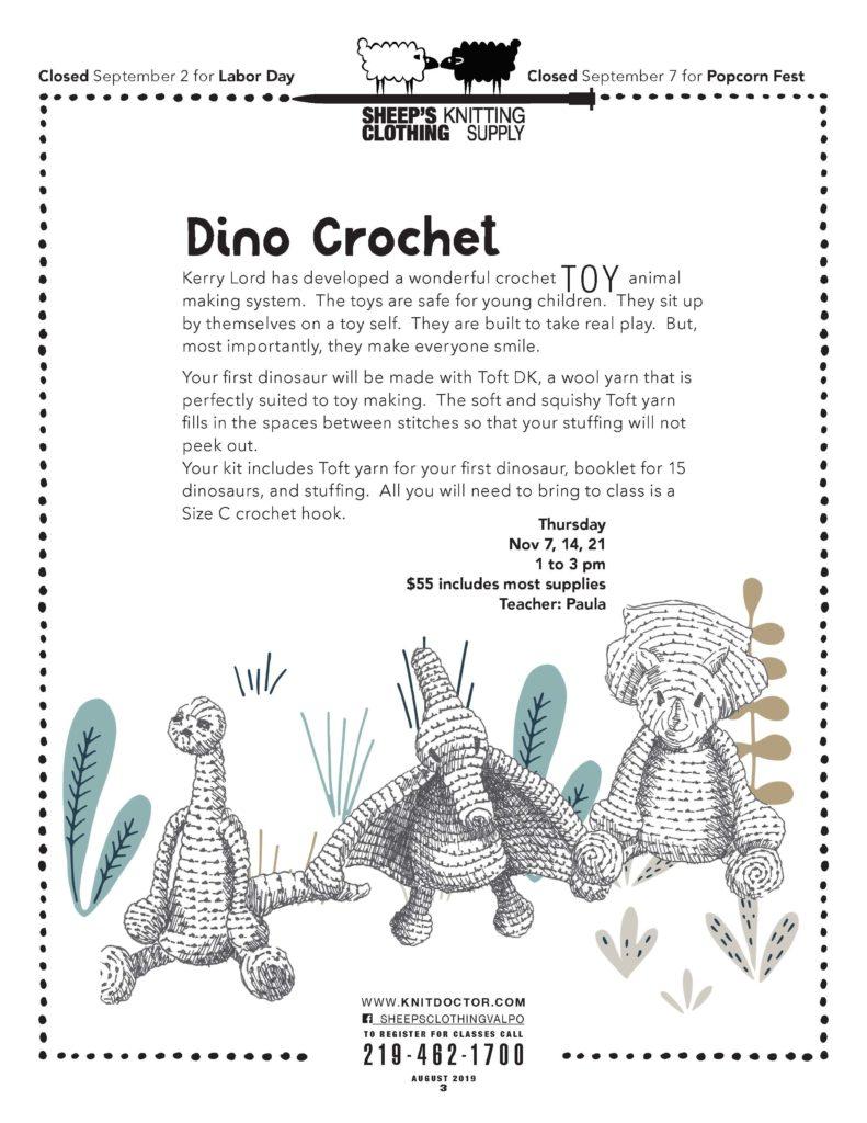 Dino Crochet