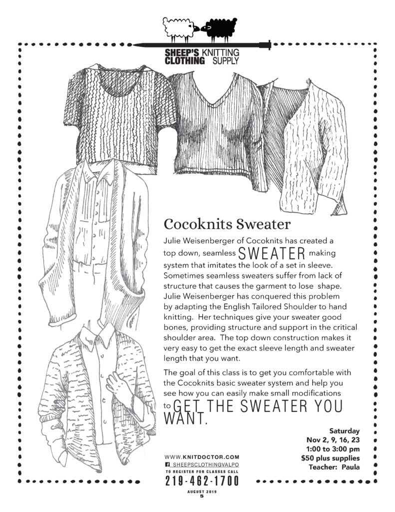 Cocoknits Sweater