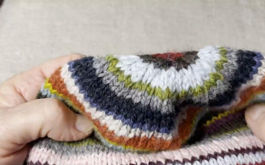 Video Tutorial – 21-Color Slouch Hat Part 2