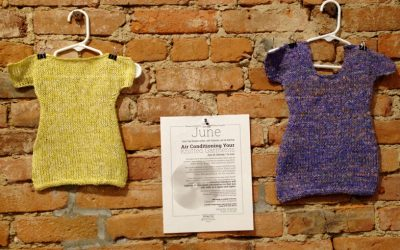 Air Conditioning Your Knitted Garments ~ June 25, Saturday
