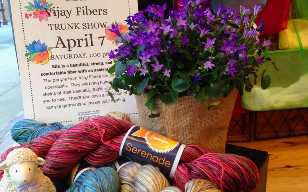 Silk Trunk Show and LYS Day
