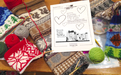 Fair Isle February and Big Game Open Knit