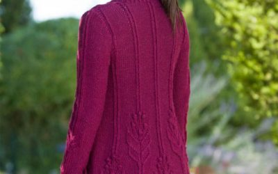 A well-crafted set in sleeve cap on Hetty's Garden from the Folly Cove collection.
