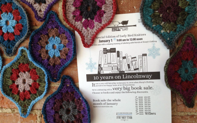 10 years on Lincolnway:very big book sale