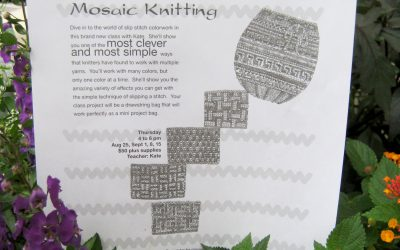Most Clever, Most Simple, Knitting