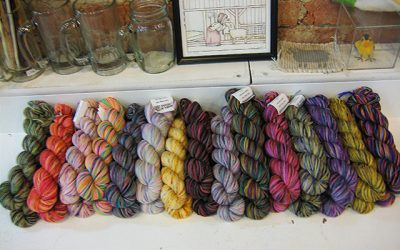 Newly arrived:  Lots of Koigu.
