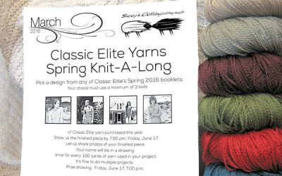 March wind's goin' to blow in a knit-a-long