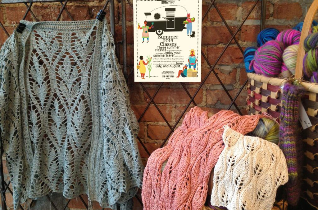 Knit Camps. Knit Gardens. Knit Class Schedules.