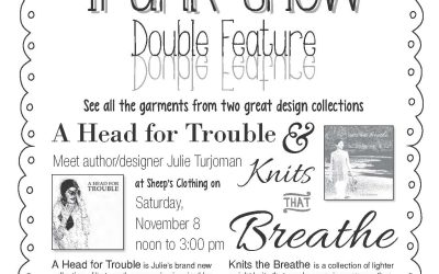 Double Feature ~ Trunk Show ~ November 8