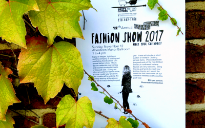 Fashion Show 2017 ~ Sunday November 12