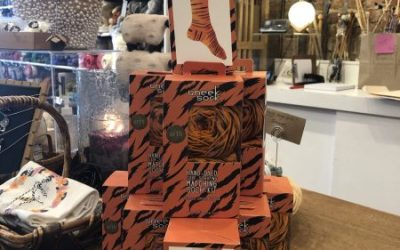Tigress Socks Have Arrived!!